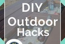 Outdoors DIY / How to make awesome and cool outdoor DIY projects on a budget. How to make pallet projects for your pergola or deck, DIY chandeliers for outdoor ambient lighting, how to make DIY projects for very cheap, and ideas for outdoor living spaces. Learn helpful furniture tips, how to build play places for kids, easy outdoor crafts and activities and even plans for constructing an outdoor bar. Don't miss our landscaping projects and ideas like how to make a fire pit! We love all things outdoors.