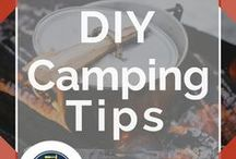 Camping Tips / Best camping ideas and life hacks for emergency preparedness when you're living off the grid. DIY tips for what to pack including fun games, awesome dollar store finds, and cool DIY tent plans. How to go camping with your kids in your motorhome or just the classic way. Check out these cool activities for having the best summer ever! Don't miss these amazing camping organization tips and essentials for preppers or just your average Joe by DIY Ready.
