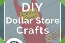 Dollar Store Crafts / Dollar store crafts, organizing, decor, and more DIY ideas using the low cost materials that can be easily found at the dollar store. All the best dollar store craft tips and tricks for Christmas, gifts, storage, for wedding, and best dollar store finds. DIY projects and what to buy at the dollar store for organization hacks and projects. Tips for home decor and party ideas including Halloween, kids party, and even food and meals by DIY Ready.