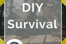 Survival DIY / DIY Survival Projects and Tips. Ideas and tutorials with step-by-step for cool homemade self reliance projects. Cool DIYs for preppers and preparedness minded individuals.
