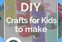 Crafts for Kids to Make /  Awesome DIY tutorials and cute crafts for kids inspired by Disney's Frozen and so much more! Awesome seasonal and easy kids crafts including Christmas crafts for kids, Thanksgiving crafts for kids, Halloween crafts for kids, Easter crafts for kids, and other fun holiday craft ideas and tutorials. Don't miss out on these fun and cool DIY projects by DIY Ready.