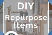 Repurposed Furniture / All the best repurposed furniture DIY ideas, tutorials and DIY techniques for repurposed furniture. How to repurpose your desk, nightstand, headboard, household junk and other items. Don't miss our before and after tutorials. Give our unique furniture transformations a go and see the creative results right before your eyes! Need DIY Ideas for chal paint, faux finishes, refinishing and upcycling? Take your shabby items and make them shabby chic by DIY Ready.
