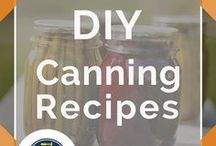 Canning Recipes / Easy canning recipes for apples, asparagus, for soup and for pickles. Awesome DIY tips for homesteaders or just for beginners. How to make fun and unique gifts for friends. Learn canning recipes for tomatoes, for pears, corn, for peppers, and so much more. Need a jam or jelly recipe? Don't miss our tips for canning dry goods and storing jars seasonally. We've got everything from healthy spaghetti sauce, applesauce, small batch goods and more. Make meals in a jar if you're on the go by DIY Ready.