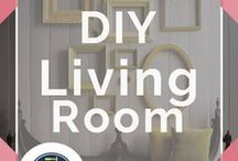 DIY Living Room / Best living room decor ideas on a budget for your small space or apartment. Create cozy and family home living rooms with our modern DIY pottery barn inspired knock offs. Shabby chic DIY projects for the colorful crafters out there! Create large installations, ikea hacks, and simple traditional pieces for all types of contemporary living. Our tutorials will continue to inspire to craft furniture for cheap with thrift store shopping tips and ideas, and easy projects for beginners by DIY Ready.