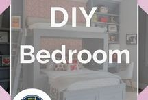 DIY Bedroom / DIY Bedroom Projects and DIY Projects for The Home. Easy and inexpensive ideas to makeover your bedroom, make do it yourself bedding and bedroom ideas for decorating, furniture, paint, wall paper, organization, sheets and pillows, wall art and more. Master bedroom, guest room, kids room, boys, girls, teens and creatvie DIY room decor for women, men and kids