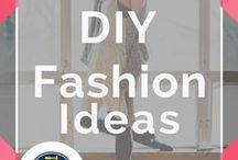 DIY Fashion / DIY Fashion Ideas and Projects plus Do It Yourself Fashion Tutorials. Simple solutions for budget friendly creative homemade fashion and DIY clothing ideas.