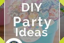 DIY Party Ideas / Simple DIY ideas for your next party. Homemade decor, crafts, favors, recipes and other cool ideas for your next party