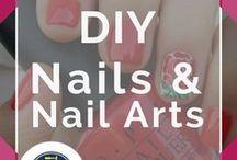 DIY Nails and Nail Art / DIY Nails, Nail Art tutorials and designs. Easy to follow instructions and super tips for fabulous nails.