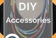 DIY  Accessories / DIY Accessories. Easy Do It Yourself fashion accessories projects and tutorials.