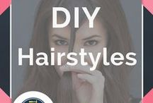 DIY Hairstyles / DIY Hairstyles and Hair tutorials to try. Simple instructions for gorgeous locks.