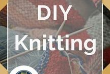 DIY Knitting / Knitting & Crocheting by DIY Ready Our best knit and crochet projects - patterns and ideas for homemade yarn creations. Follow DIY Ready on Pinterest