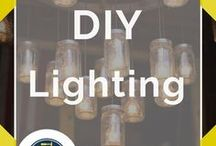 Lighting DIY / Lighting ideas and DIY fixtures for outdoor, kitchen, in bedroom, dining room, and so much more. Check out how to deck out your place for the holidays with Christmas lighting techniques. Easy ways to make DIY string lights, DIY photography lighting hacks, lighting for art, and rustic lighting for interior design. Whether you're in the city or the country, we'll show you how to make DIY hanging pendant lights for your house or apartment. DIY by DIY Ready.