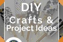 """Crafts & DIY Project Ideas"" / Pins from DIY Ready's favorite DIY Projects and Crafts bloggers. How to make all the most fun crafts on a budget for organization, for the home, and for making money. Handmade gift ideas for your Etsy shops! Cool tutorials and DIY Project ideas from Buzzfeed, tips for using a Cricut and easy ways to upcycle. NO SPAMMING. Want to join our DIY Crafts Group Board? Follow DIY Ready on Pinterest and send us a message."