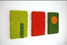Декор стен / Идеи декора стен долговечными растениями. Без ухода и полива. МОДНО! СВЕЖО! ШИКАРНО!