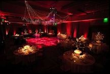 Event Lighting   Pin Spotting   Washes / So much thought and detail go into planning an event.  Floral Design, Cake Creations, Dessert Displays, Escort Card Displays, etc.  All these items will be left in the dark unless they are properly lit. Pin Spotting is generally used for smaller items while a wash would be used for a larger item or table display.  This type of lighting will beautifully highlight & accentuate your event.  Bringing to light all the beautiful color & detail of each item like your own personal art gallery.