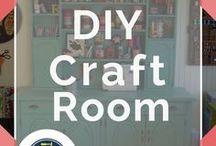 Craft Room / DIY Craft Room | Craft Room Organization Ideas for DIY Crafts + Projects Tutorials