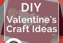 Valentines Ideas / All the best Valentines Day crafts and DIY Valentines ideas including homemade Valentine cards, printable games, homemade quilts and crochet tutorial for preschoolers, for toddlers, for kids, and for adults. How to's and tutorials to make gifts for him and for her. Ideas for making awesome and cool DIY Valentine Gifts by DIY Ready