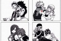 My Fairy tail Couples / ♥ Natsu and Lucy | Gray and Juvia | Gajeel and Levy | Jellal and Erza ♥