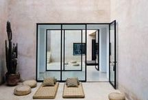 Modern Outdoor Spaces / A collection of modern outdoor design for the minimalists who want a hint of green.