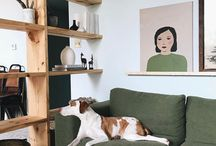 + a natural living space + / This is a lovely collection of living rooms with an eclectic mix of interior of new and reclaimed items. We love the mix of classic design and vintage finds.