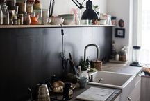 + simple & natural kitchens + / This is a lovely collection of kitchens, cupboards, shelves and tables made from new and reclaimed materials, including wood, copper and stainless steel. We love the mix of classic design and vintage finds, so that each kitchen has its own unique charm.