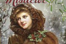 Under the Mistletoe / A Christmas novella from the Bluestocking Belles box set Mistletoe, Marriage, & Mayhem now available for individual sale.