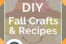 DIY Fall Crafts, Decor & Recipes / This board is dedicated to the best season...Fall! We've got Fall recipes, craft ideas, home decor ideas and more! Lots of things revolving around pumpkins like homemade Pumpkin Spice Latte recipes!