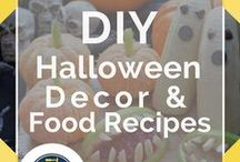 Halloween Decor and Food Recipes