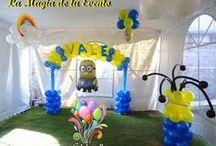 Tematica Minions / Decoración para Fiestas temáticas infantiles