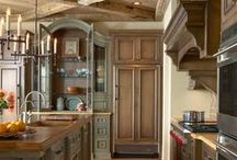 Kitchen Porn / The most beautiful kitchens that will inspire ANYONE to cook more! Who could possibly want take out?!