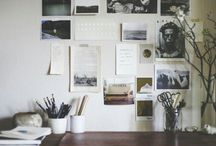 + inspiration boards + / This is a lovely collection of mood board ideas for your studio.
