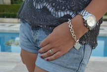 Details of my outfit.