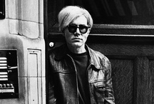 """Andy Warhol / Quotes """"They say that time changes things, but you actually have to change them yourself.""""  """"I'm afraid that if you look at a thing long enough, it loses all of its meaning.""""  """"An artist is someone who produces things that people don't need to have but that he - for some reason - thinks it would be a good idea to give them."""""""