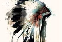 Warrior Heart / Its only the white man who calls the mother earth wild