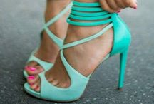 Teal...Aqua...Turquoise.... / My second fav colour group...