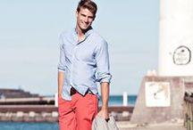 HOMBRES en ropa CASUALVerano / Conjuntos armonicos para vestir el dia a dia en climas de templados a calurosos