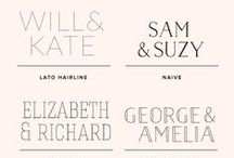 Fabulous Wedding Fonts / Wedding Fonts, Invitation Fonts, Recipient Fonts, Address Fonts, SIgnature Fonts, Wedding Decoration Fonts