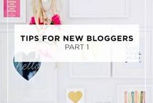 Blogging tips / Lots of lovely general blogging tips - boost traffic, grow followers, publish more often, write better content and be more productive!