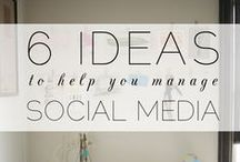 Social media tips for bloggers / Below you'll find dozens of social media tips for bloggers!