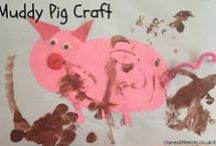 Farmyard Fun / Farm themed arts, crafts, sensory play and activity ideas for babies, toddlers and preschoolers.