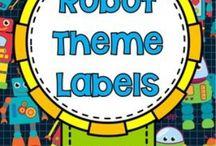 Robots / Tablero colaborativo sobe robots