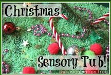Christmas / Christmas arts, crafts, sensory play and activity ideas for babies, toddlers and preschoolers.