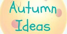 Autumn / Fall / Autumn / fall themed arts, crafts, sensory play and activity ideas for babies, toddlers and preschoolers. Easy and simple animal activities for you to enjoy with your children. Kids can have fun learning through play with these autumn ideas.