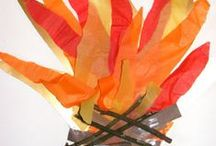 Bonfire Night / Bonfire Night arts, crafts, sensory play and activity ideas for babies, toddlers and preschoolers.