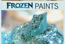 Frozen / Frozen arts, crafts, sensory play and activity ideas for babies, toddlers and preschoolers.