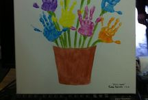Mother's Day / Mother's Day crafts and activities for babies, toddlers and pre-schoolers.