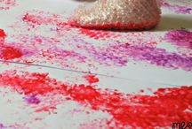 Painting Ideas / Painting ideas suitable for babies, toddlers and preschoolers