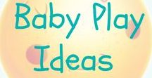 Baby Play Ideas / Fun and easy baby play ideas. Have fun with your baby with these arts, crafts, sensory play and activities. Lots of DIY and homemade ideas for your little one.
