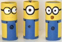 Minions / Minions arts, crafts and party ideas for kids