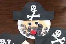 Pirates / Pirate themed fun, play ideas, crafts and sensory play for toddlers and preschoolers.